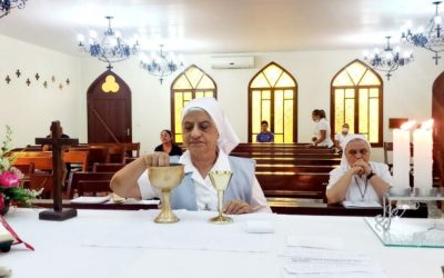 INCANSABLE MISIONERA, HNA FRANCES SEQUEIRA CELEBRÓ 50 AÑOS DE VIDA RELIGIOSA.