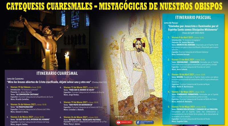 19 DE FEBRERO INICIAN LAS CATEQUESIS CUARESMALES DE LOS OBISPO